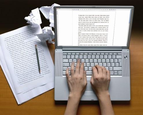 skriva artiklar