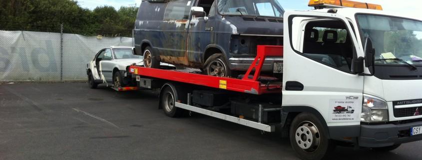 Vi hämtar och betalar för kompletta skrotbilar i Göteborg